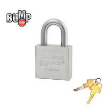 American Padlock - High Security Locks Solid Stainless Steel A6460NKA BumpStop