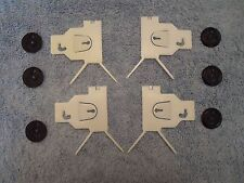 82 83 84 85 86 87 88 Olds Cutlass Rear Fender Lower Molding Plastic Clips