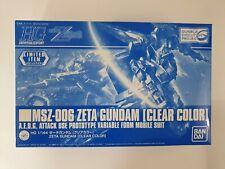 HG 1/144 MSZ-006 Zeta Gundam Clear Color Version Limited BANDAI Gunpla Expo