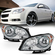 "For 08-12 Chevy Malibu LS LT LTZ Sedan ""FACTORY STYLE"" Headlights Assembly LH+RH"
