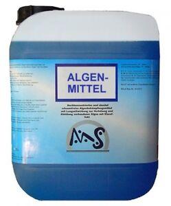 Algenmittel Algenschutzmittel 5 L ALGENEX Algenvernichter Pool Algenstop