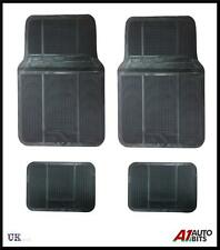Rubber Floor Mats Car SUVs Vans & Trucks Front and Back Heavy Duty Rubber 4pcs