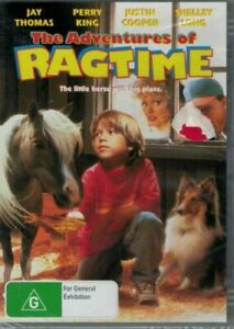 THE ADVENTURES OF RAGTIME DVD (PAL, 1998) Free post