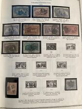 Collection Of US Mint Used 19th Century Front of Book