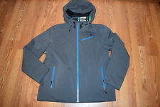 NWT Mens SPYDER Gray Turquoise Ventilated Winter Jacket Coat Size XL X-Large