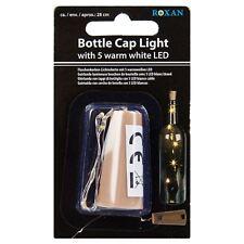 WINE BOTTLE CAP LIGHT LAMP 5 WHITE LEDS FAIRY HOME TABLE DECORATION CELEBRATION