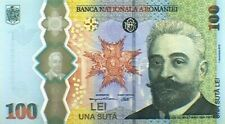 ✠ 2019 ✠ Romania 100 Lei ✠ Commemorative Bratianu Banknote Polymer ✠✠✠✠✠✠✠