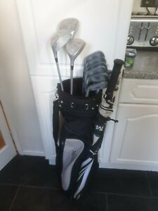 SUPERB FULL SET OF LADIES PGF ACCLAIM GOLF CLUBS, RIGHT HANDED, GRAPHITE SHAFTS