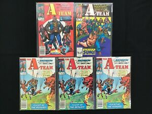 A-TEAM Lot of 5 Marvel Comic Books - #1 2 3 3 3!
