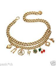 Anna dello Russo H&M - gold belt with charms - necklace bracelet hm