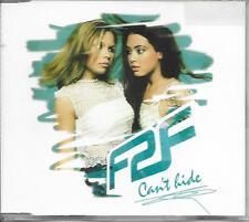 F2F - Can't hide CDM 3TR Eurodance Trance 2002 Finland RARE!!