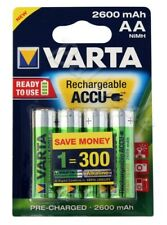 Blister 4 accus/piles rechargeable AA/LR6 2600 mAh Varta