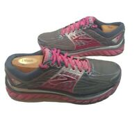 Brooks Women's Glycerin 14 Super DNA Running Shoes Gray & Pink Size 9.5 Sneakers