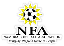 "Namibia NFA Namibie National Football Association sticker decal 5"" x 4"""