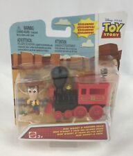 Disney Pixar Toy Story Mini Figure Woody and Western Train New