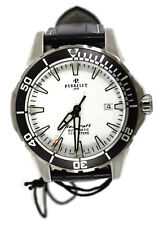 Perrelet Seacraft Silver Dial Stainless Steel Watch A1053/1