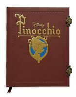 Disney Pinocchio Storybook Replica Journal Brand New