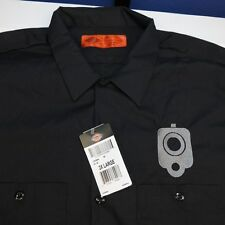 NEW NWT DICKIES EMBROIDERED CCW HAND GUN PISTOL SHOOTING WORK SHIRT XXL