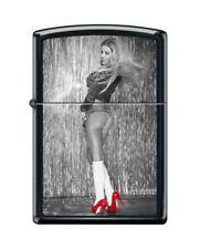 BRIQUET ZIPPO NEUF - FEMME SEXY ( Chaussures Rouges 2 ) - 2016