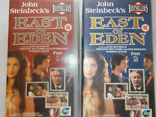 EAST OF EDEN-Complete Mini-Drama on 2 x VHS Video-Jane Seymour,Timothy Bottoms