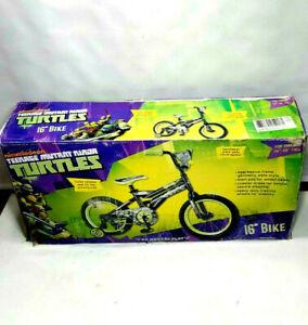 "Nickelodeon Teenage Mutant Ninja Turtles TMNT Bicycle 16"" Kids Bike 34""-48"" Tall"