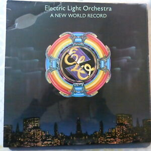 ELECTRIC LIGHT ORCHESTRA LP A NEW WORLD RECORD 1976 UK VG+/VG++ OIS