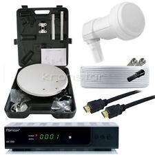 FULL HD Camping SAT-Anlage Komplett MEGASAT Receiver DIGITAL Mobile Koffer HDMI