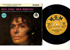 "LENA HORNE.SINGS YOUR REQUESTS (VOL 2).UK ORIG 7"" EP & PIC/SL.EX/EX"