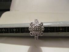 Flower Cz Ring Size 6 Judith Ripka 925 Sterli 00000Bee ng Square