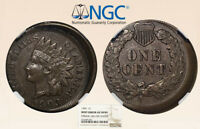 1903 1C Indian NGC AU58 10% O/C Mint Error - RicksCafeAmerican.com