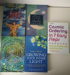 Spiritual Book Bundle x 5 Mind-Body-Spirit