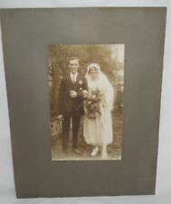 Tinted 1920s Photograph Wedding Photograph Patrick Swayze Related Signed Picture