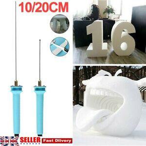 Electric Foam Cutter Pen Polystyrene Hot Wire Styrofoam Cutting Pen Tool For UK