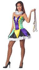 Bourbon Street Babe Sexy Mardi Gras Costume Women's Size Small