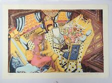 """ANTHONY GREEN RA b1939 Limited Edition LITHOGRAPH """"Kiss at the Ritz"""""""