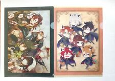 JAPAN Code Realize  event limited clear file holder set of 2 from Japan new