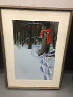 Howard Koslow Signed Original Gouache Book Cover Framed