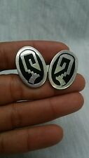 sterling 925 Ta-138 cufflinks Nice vintage Taxco Mexico