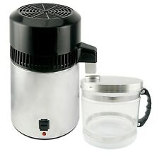 New 4L Pure Water Distiller Purifier 304 Stainless Steel Internal Used in Dental