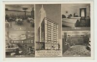 1945 Postmarked Postcard Hotel Aberdeen Fifth Avenue New York City NYC NY