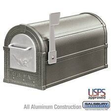 Salsbury Eagle Rural Mailbox - Pewter - Silver Eagle-MAILBOX 4855E-PWS NEW