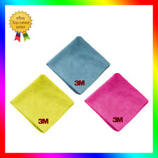 3M Perfect-it III set de 3 Bayetas de microfibras Ultra Suaves 50400+50486+50489