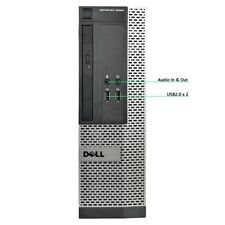 Dell OptiPlex 3020 SFF PC Desktop i3-4160 8GB Ram 500GB HD Windows 10 Pro