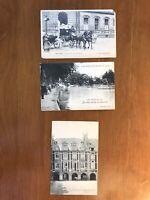 Vintage Postcards from Paris Set of 3