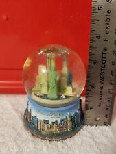 "Vtg. New York Statue Of Liberty Snow Globe 3.5"""