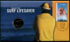 AUSTRALIA - 2007 'YEAR OF THE SURF LIFESAVER' PNC/First Day Cover [C1205]