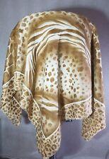 Vintage Italy JAGO square shawl / scarf fashion accessories