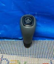 98-03 Mercedes W208 CLK320 CLK430 E320 Shift Knob Gear Shifter Gray Leather OEM