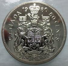 1980 CANADA 50 CENTS SPECIMEN HALF DOLLAR