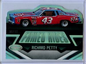 2016 Panini Certified Famed Rides MIRROR SILVER Parallel Richard Petty #80/99
